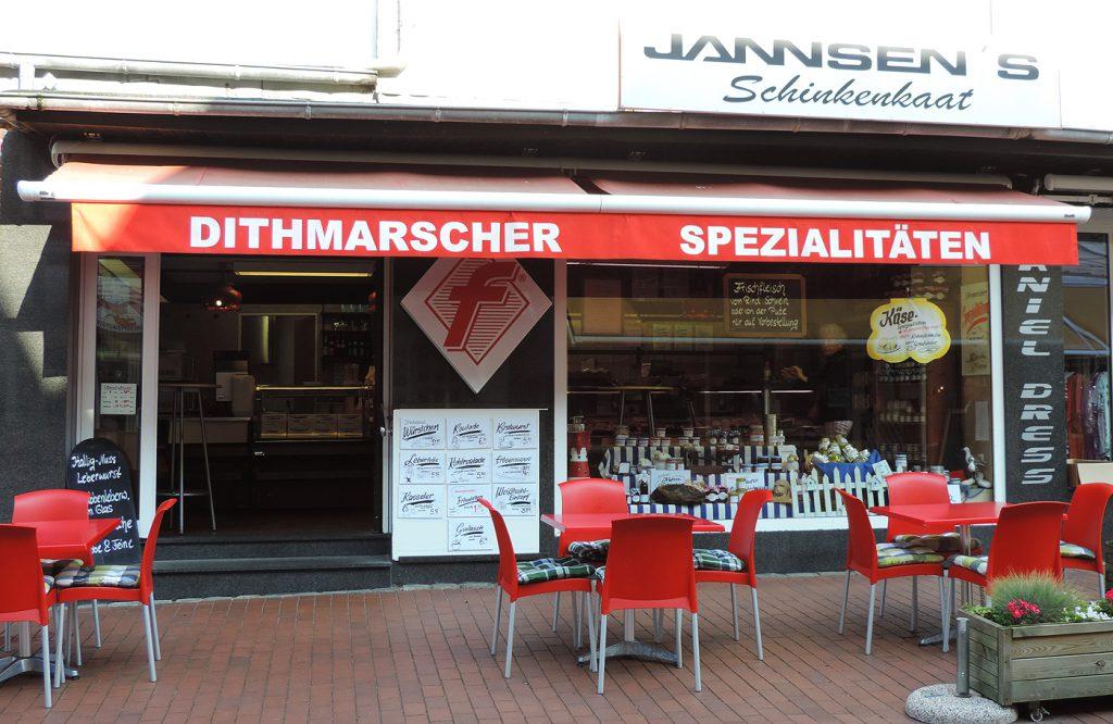 Büsumer Schinkenkaat - Alleestraße 44 in Büsum - Jannsen Fleischwaren