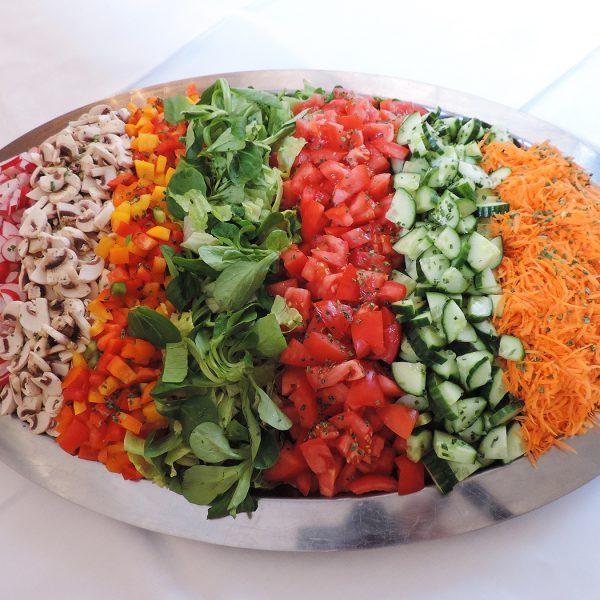 Salatplatten für Ihre Party von Jannsen Fleischwaren aus Meldorf