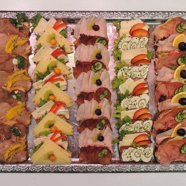 Partyservice von der Fleischerei Jannsen - Aufschnittplatten
