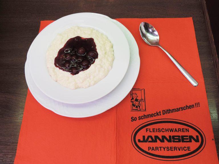 Milchreis | MIttagstisch von Jannsen Fleischwaren