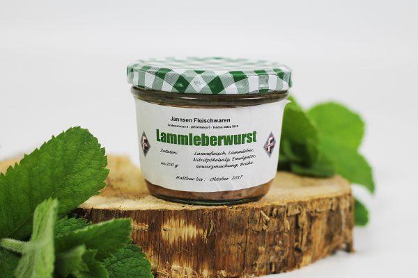 Lammleberwurst von Dithmarscher Deichlammfleisch |Jannsen Fleischwaren